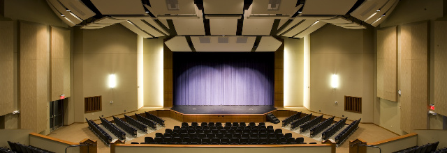 Inside of the Performing Arts Center - Marion