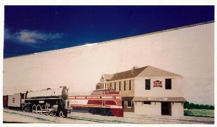 Train Depot Mural