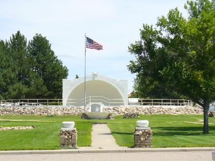 Band Shell in Sawhill Park