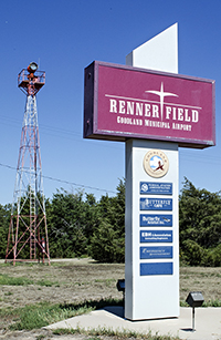 Renner Field sign