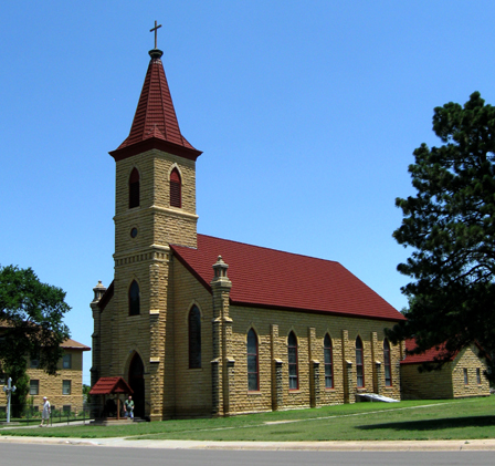 St. Anthony Church, Schoenchen, Kansas