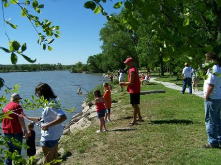 Kid's Fun Day at Lake Scott State Park