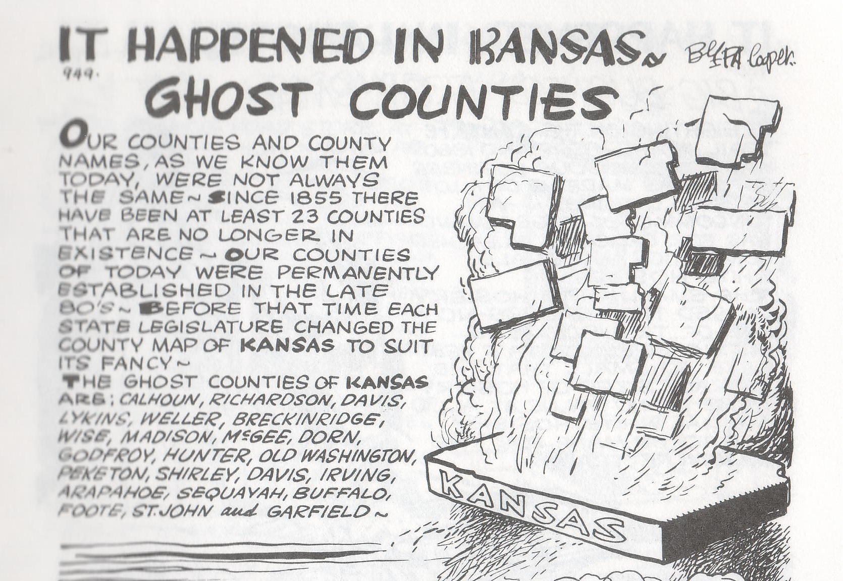 KS ghost towns