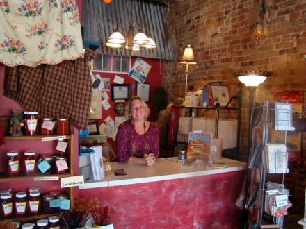 Vintage Soap and Bath, a wonderful locally owned business - a great place to find that perfect gift.